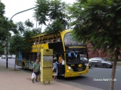 yellow buenos aires bus